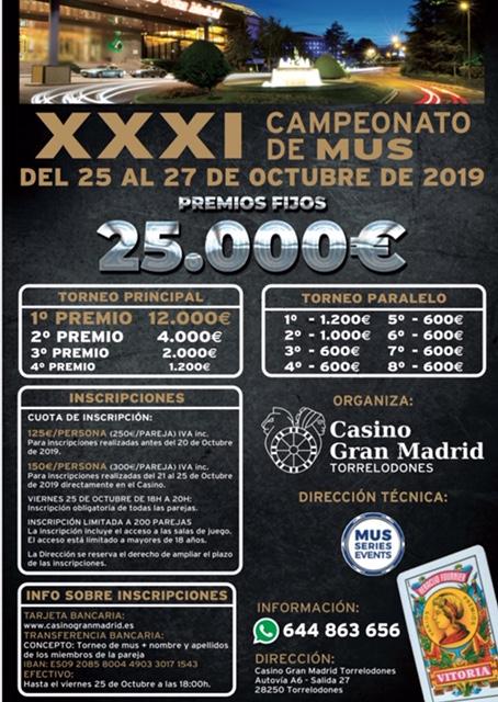 XXXI Campeonato de Mus